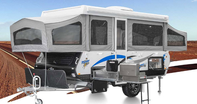 Goldstream Wind up and Out Caravan Loan