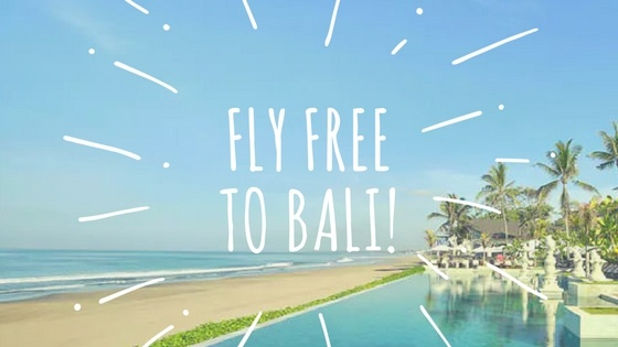 FLY TO BALI!