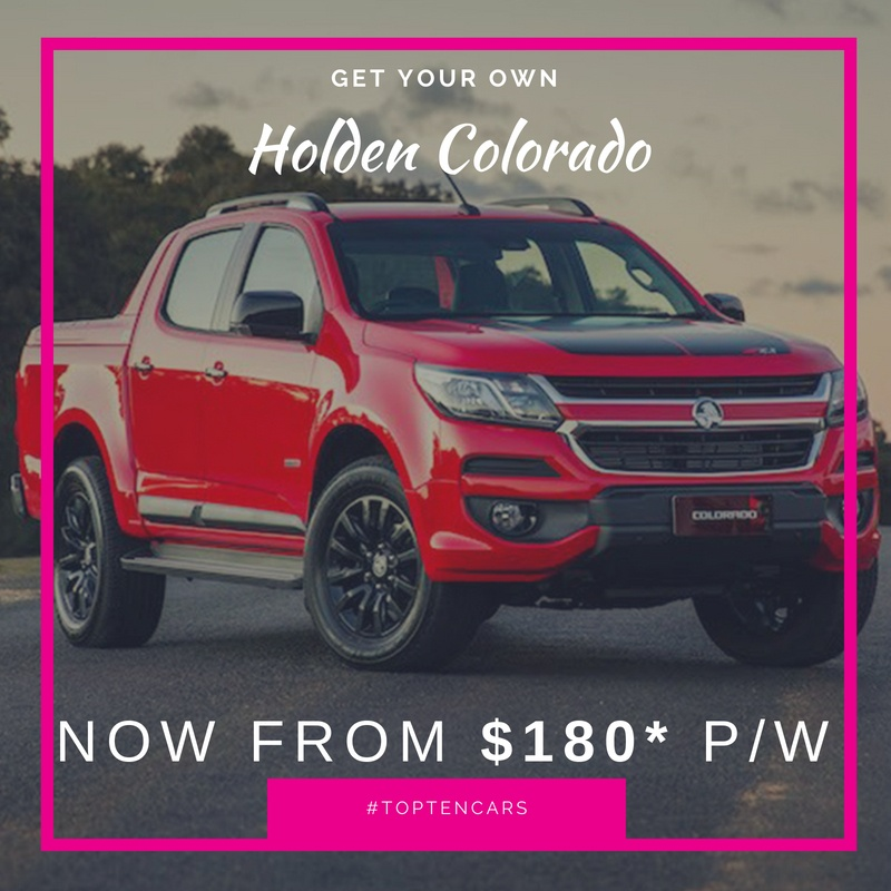 10 Holden Colorado