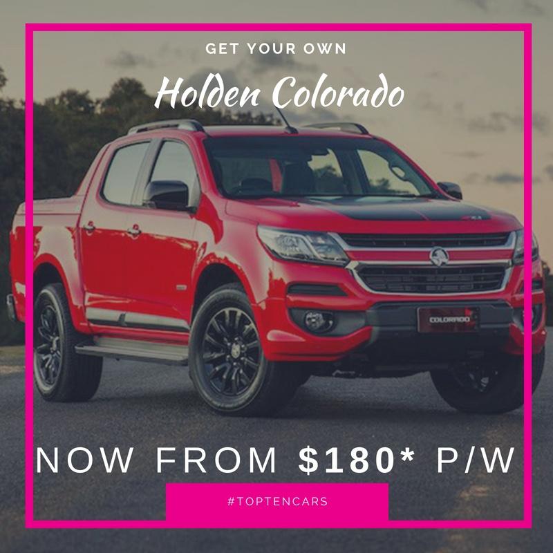 10 Holden Colorado