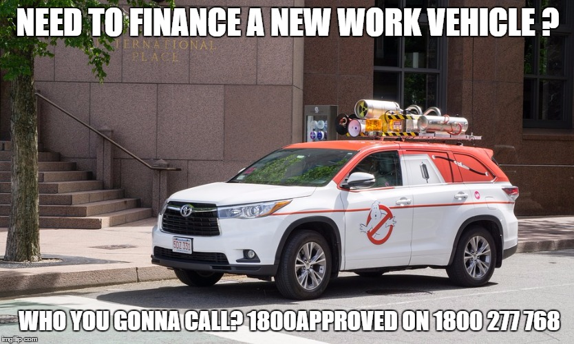 👻 Need a New Work Vehicle ? Need a Business Vehicle Loan ?